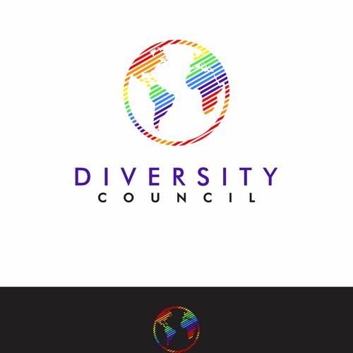 Logo concept diversity council
