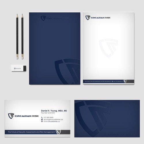 Physical Security Risk Company seeks contemporary letterhead and business cards