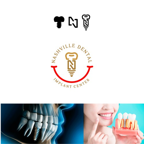 Conceito para logotipo Dental