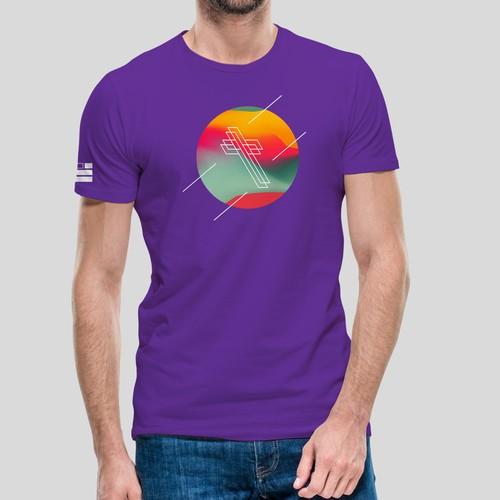 T-shirt for religious music festival