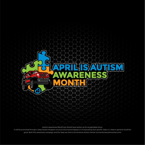Jeep Autism Awareness Stickers