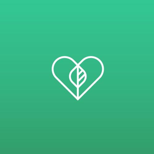 heart + leaf