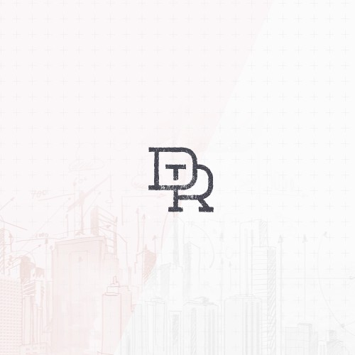Slab serif monogram