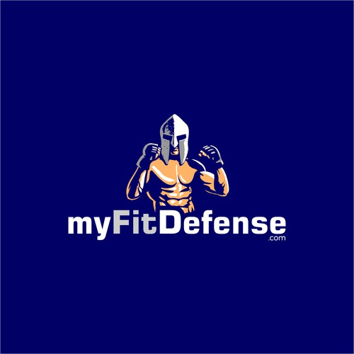Logo Design for myFitDefense