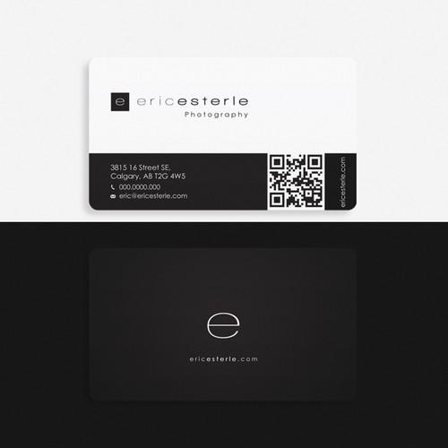 ericesterle.com Photography - Business Card