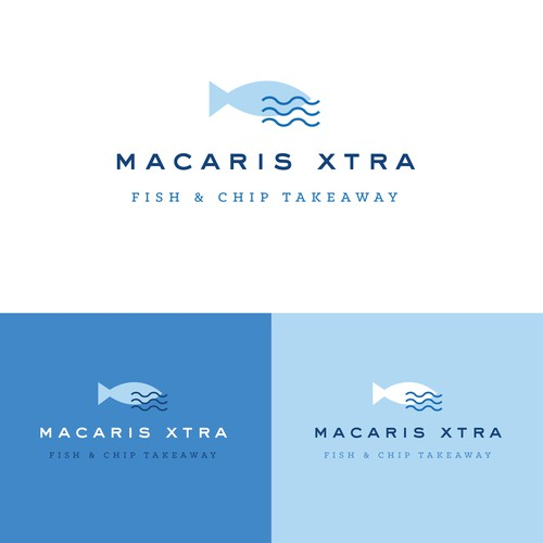 Logo concept for a fish & chip take-away!