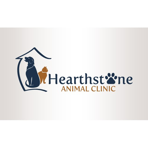 Hearthstone Animal Clinic is looking to update logo!