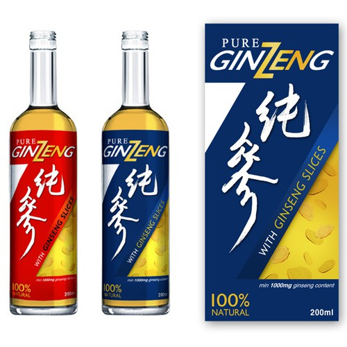 Label Design for Pure GinZeng