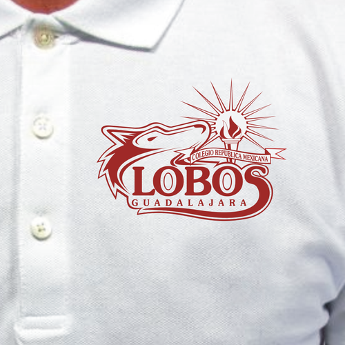 "Create ""Lobos"" logo sports academy."
