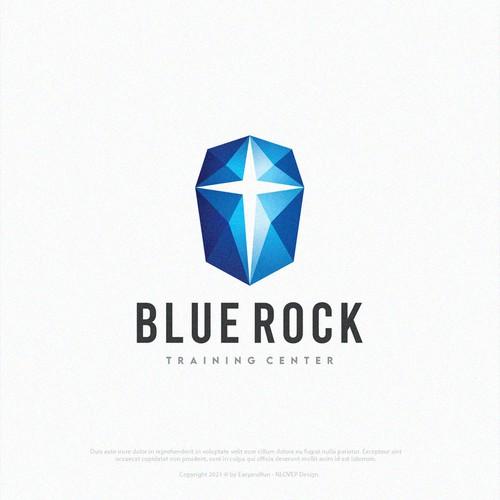 Logo Concept 4 Blue Rock l Training Center