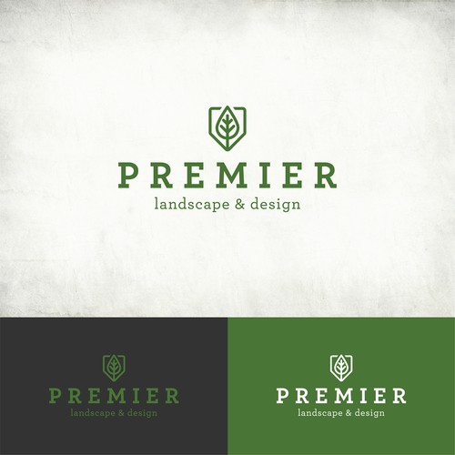 Logo for a High End Landscape company