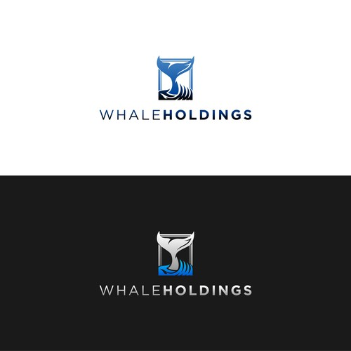 Logo And Business Card for Whale Holdings