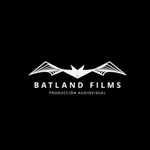 Artistic bat logo