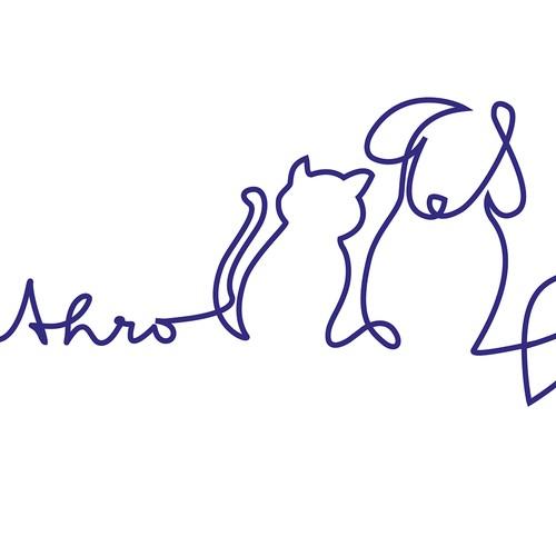 logo concept for a non-profit company who benefits local animal rescue groups