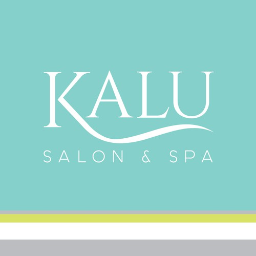 Chic, relaxing spa logo design