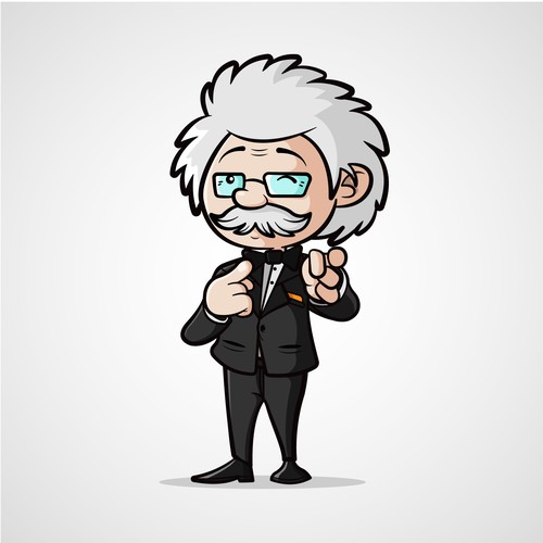 Character design Einstein