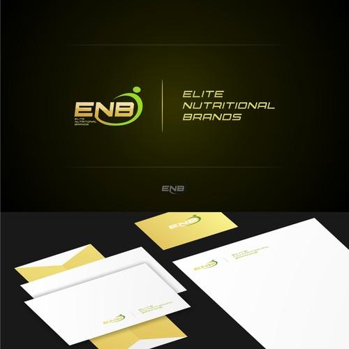 Create the next logo for Elite Nutritional Brands (ENB)