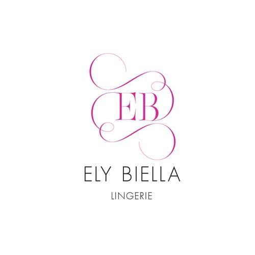 elegant feminine lingerie logo