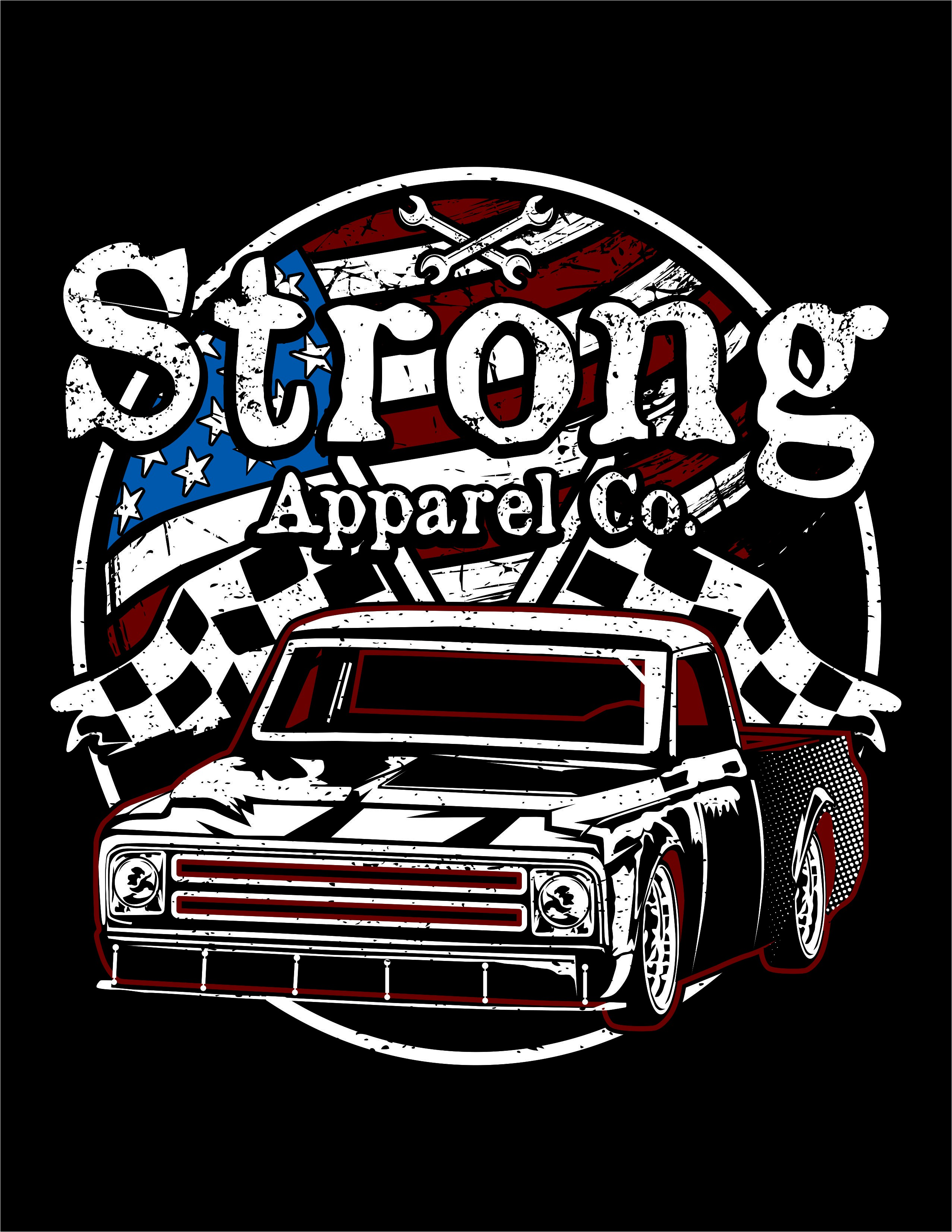 Design # 33 from Strong Apparel Street Rod Contest