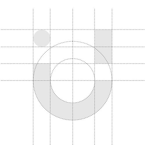 U logo smile symbol