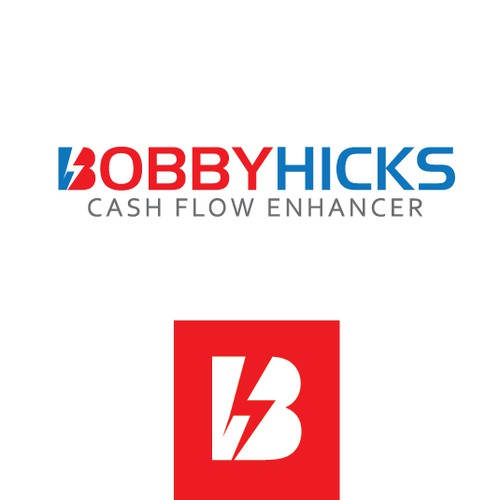 Bold Logo concept for BobbyHicks