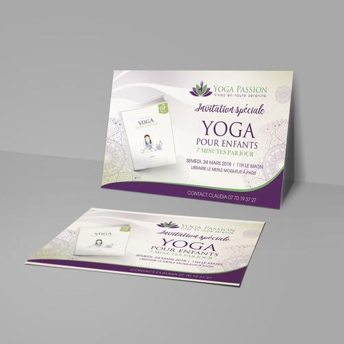 Yoga pour enfants launching Book