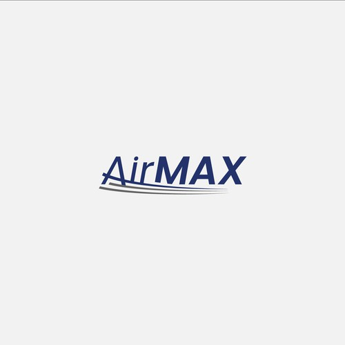 Logo for air conditioning company called AirMAX.