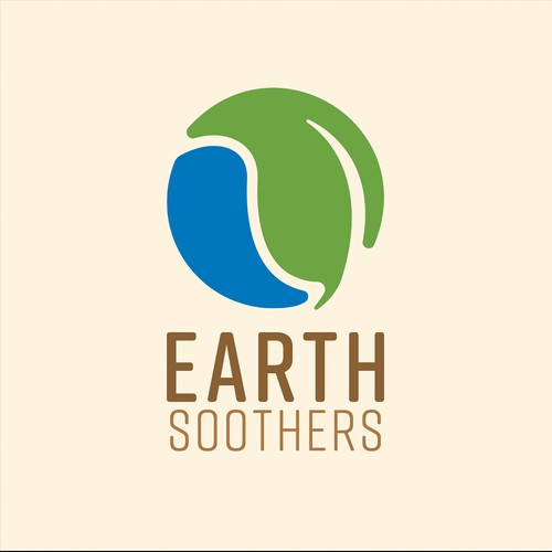 Simple Earth Style Logo