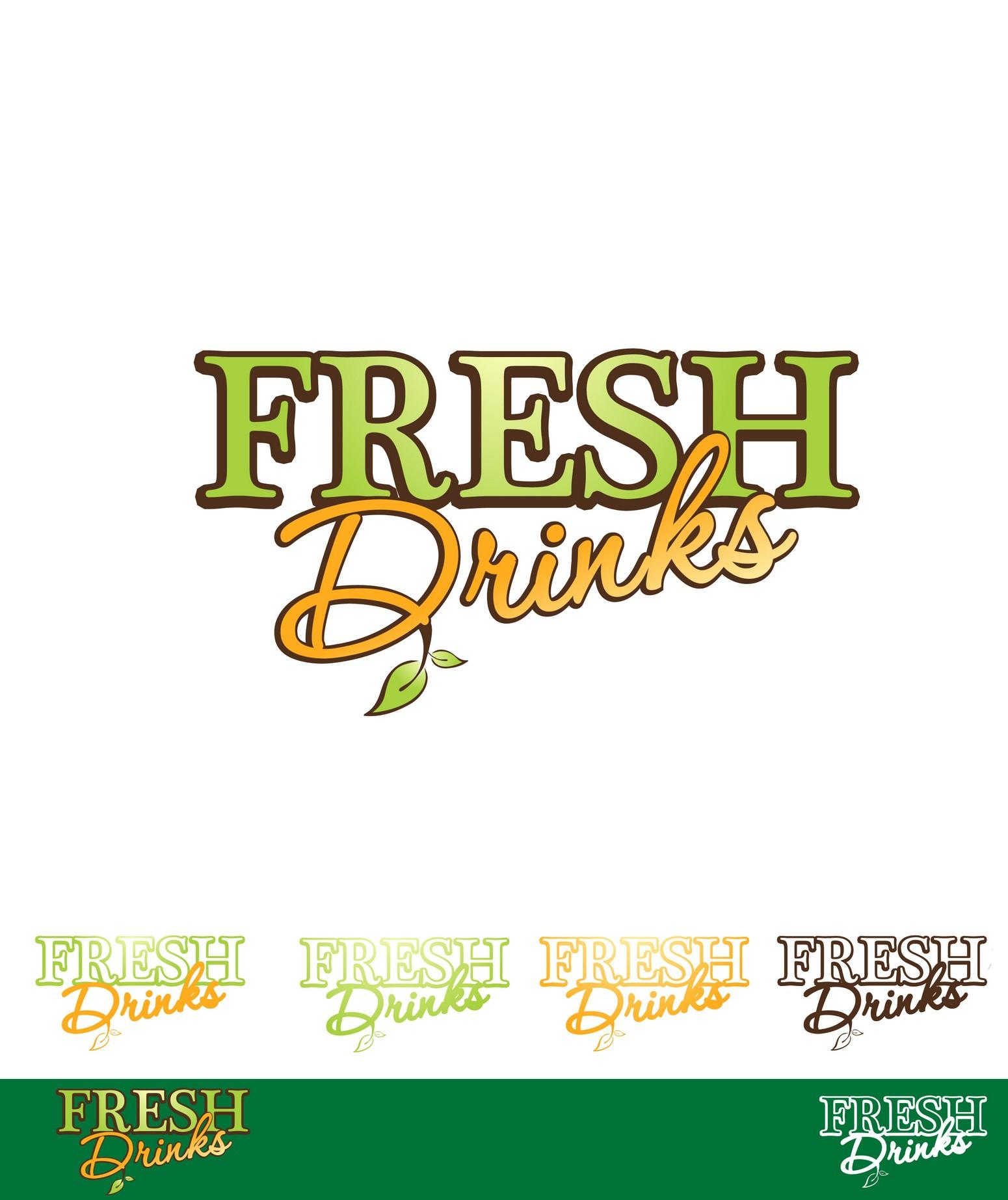 Fresh Drinks needs a new logo
