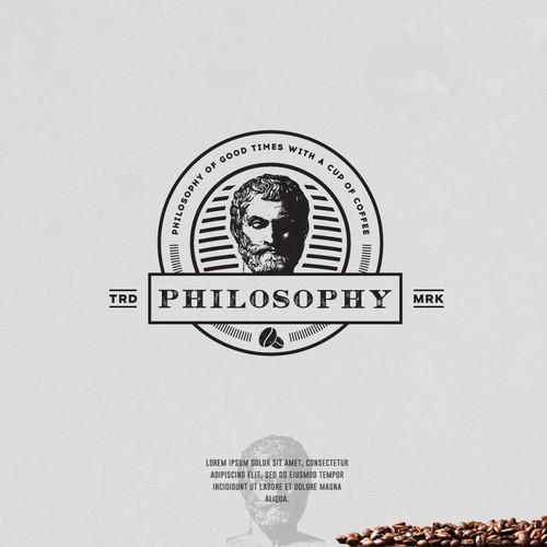 Bold logo for a Coffee Shop Company