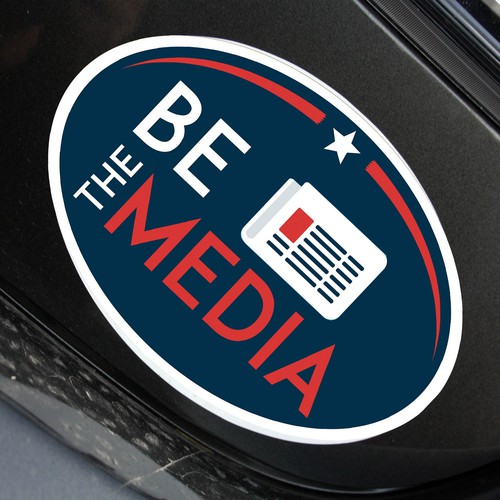 Sticker Be The Media