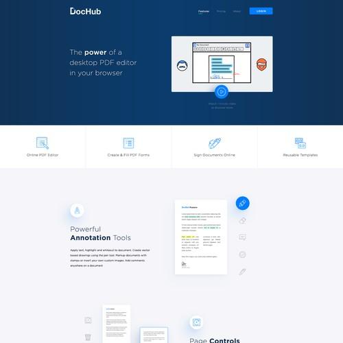 DocHub page design