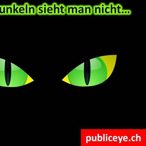 Spektakuläre Ideen & Designs zur Promotion des PublicEye gesucht!