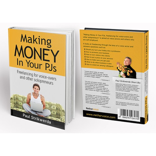 """Design a captivating (e)Book cover for """"Making Money In Your PJs."""""""