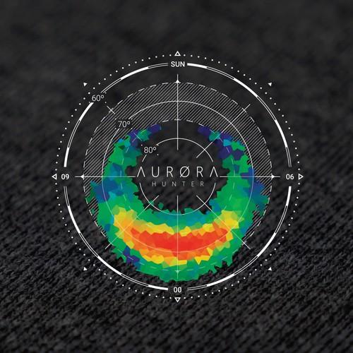 T-shirt print for Aurora Hunter
