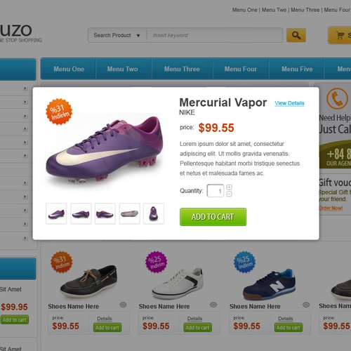 Ucuzo Website Design