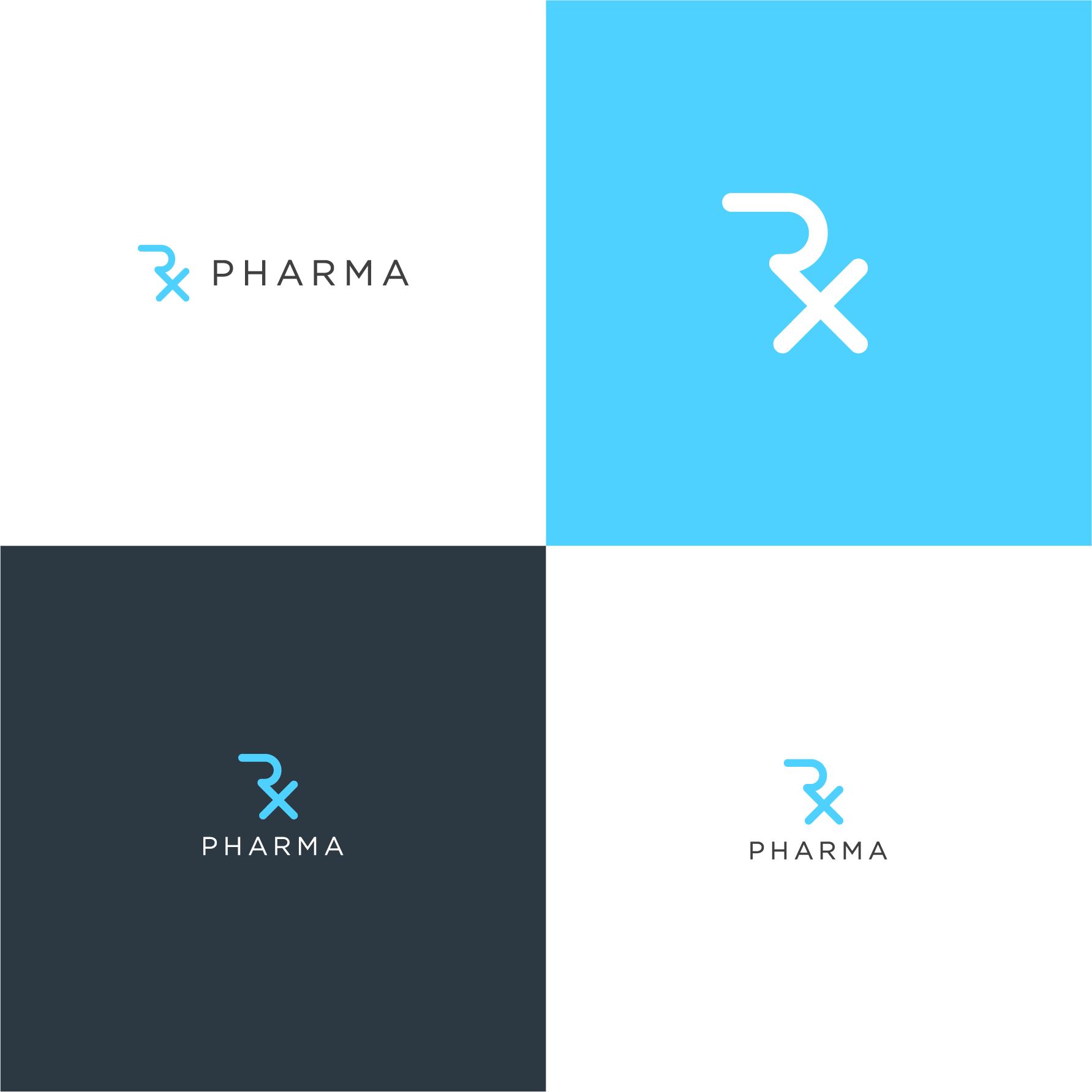 Design a professional logo for a pharmaceutical company