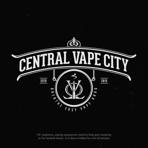 Logo Design for Central Vape City