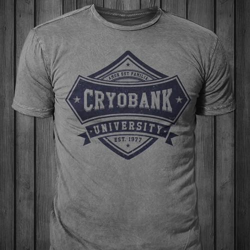 T-shirt for Cryobank
