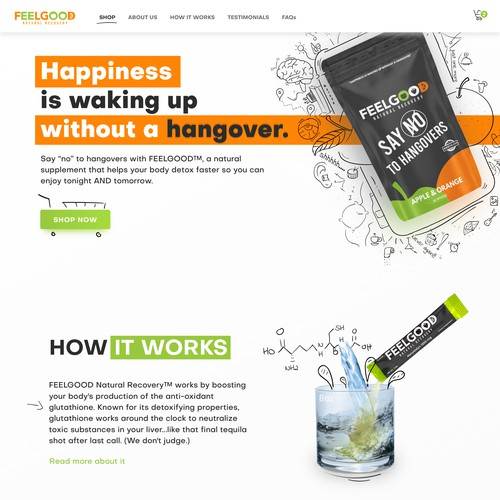 Fresh and fun drawing focused website