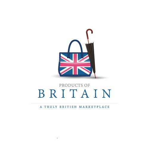 British product marketplace needing a professional logo