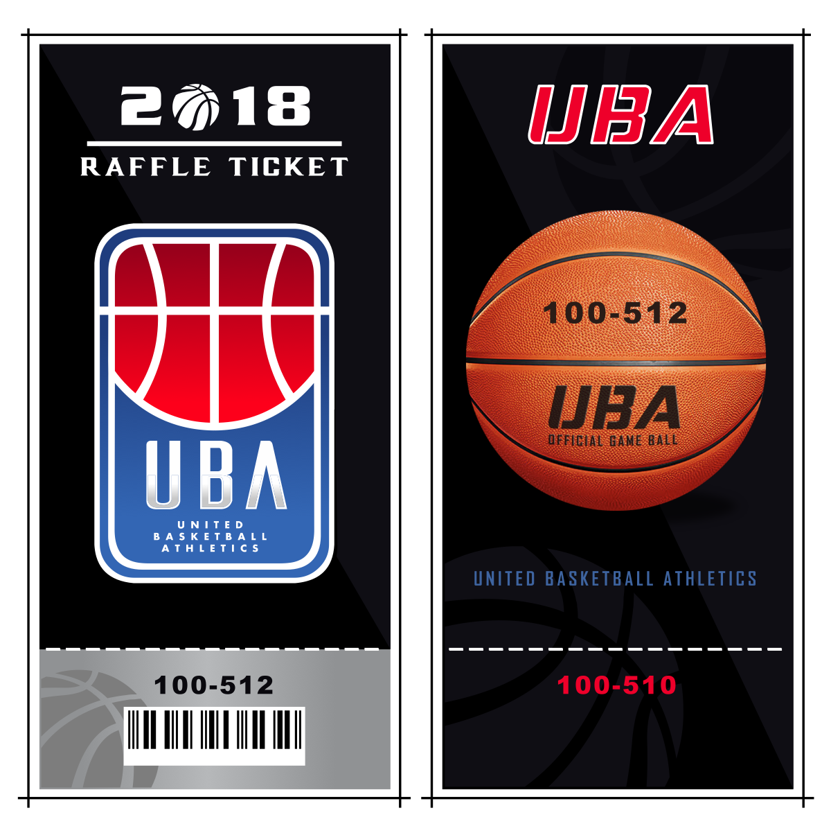 Ticket designs for UBA