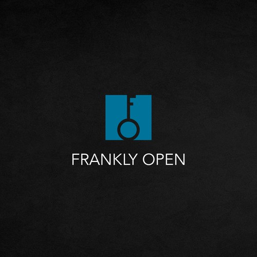 A winning logo design for Frankly Open