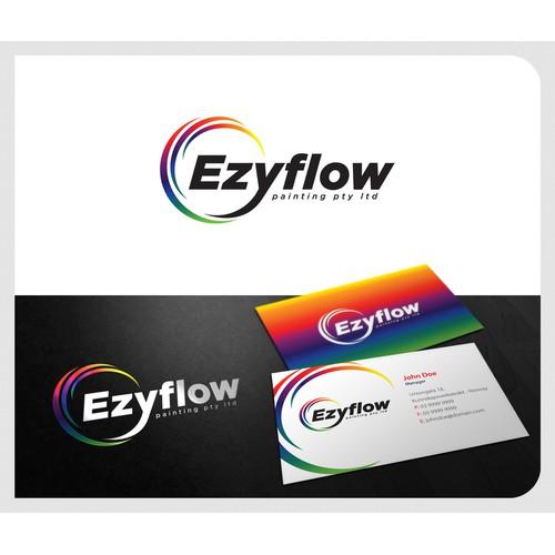 Ezyflow painting pty ltd needs a new logo