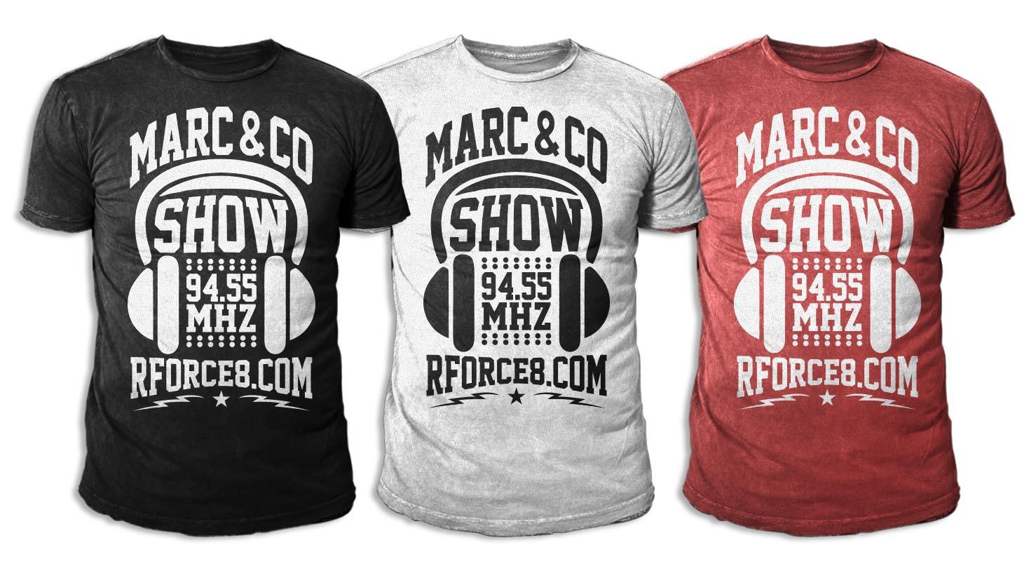 Créer un T-Shirt pour une émission de radio