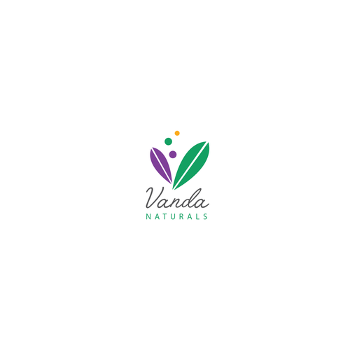 Logo Design For Vanda Naturals