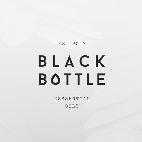 Black Bottle - Essential Oils
