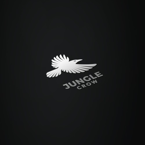 Minimal Logo Design for the brand Jungle Crow