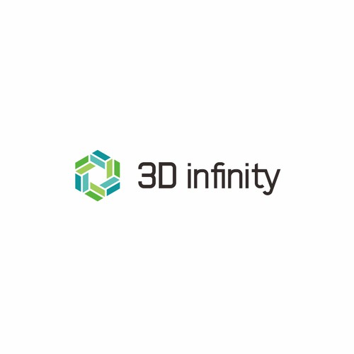 Logo Design For 3D Infinity