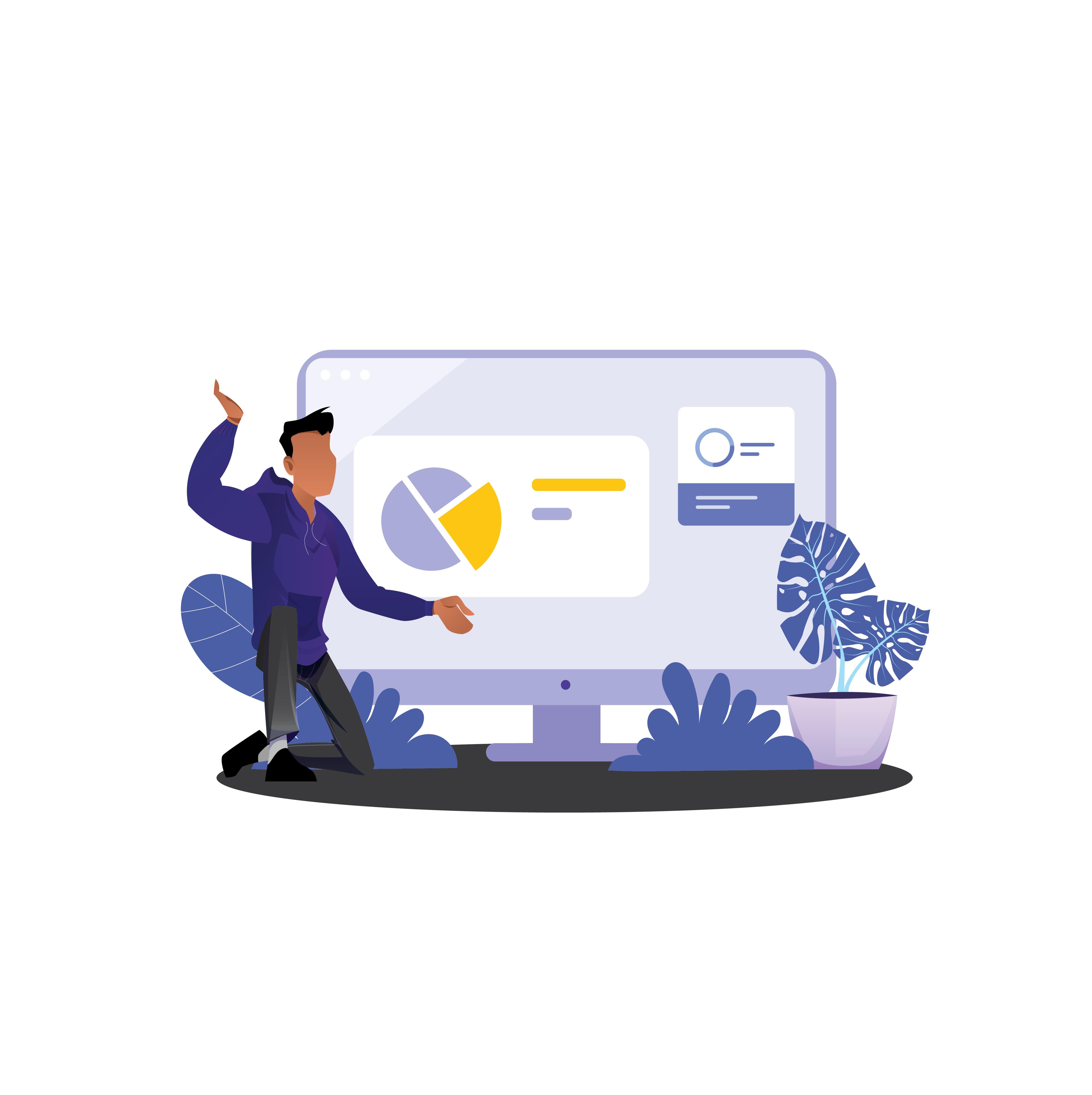Illustration needed for cool remote job website
